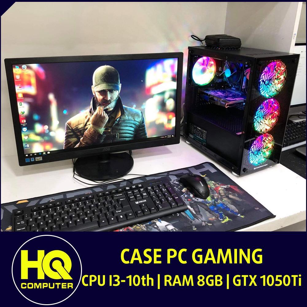 Case PC Core i3-10th GTX 1060 Ram 8GB