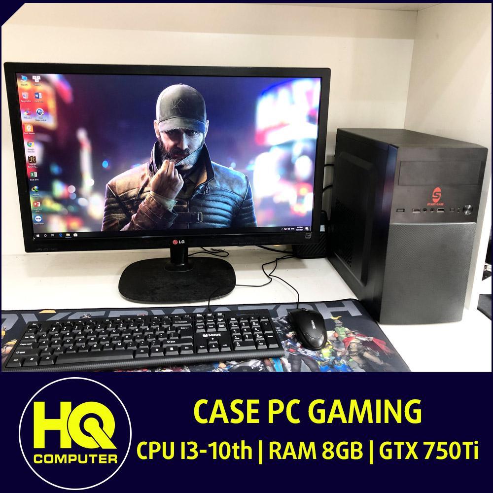Case PC Gaming Core i3-10th GTX 750Ti