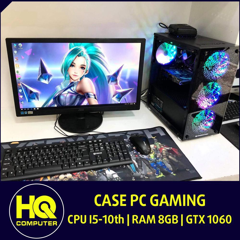 Case PC Core i5-10400F GTX 1060