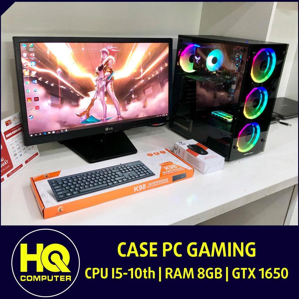 Case PC Core i5-10400F Card GTX 1650