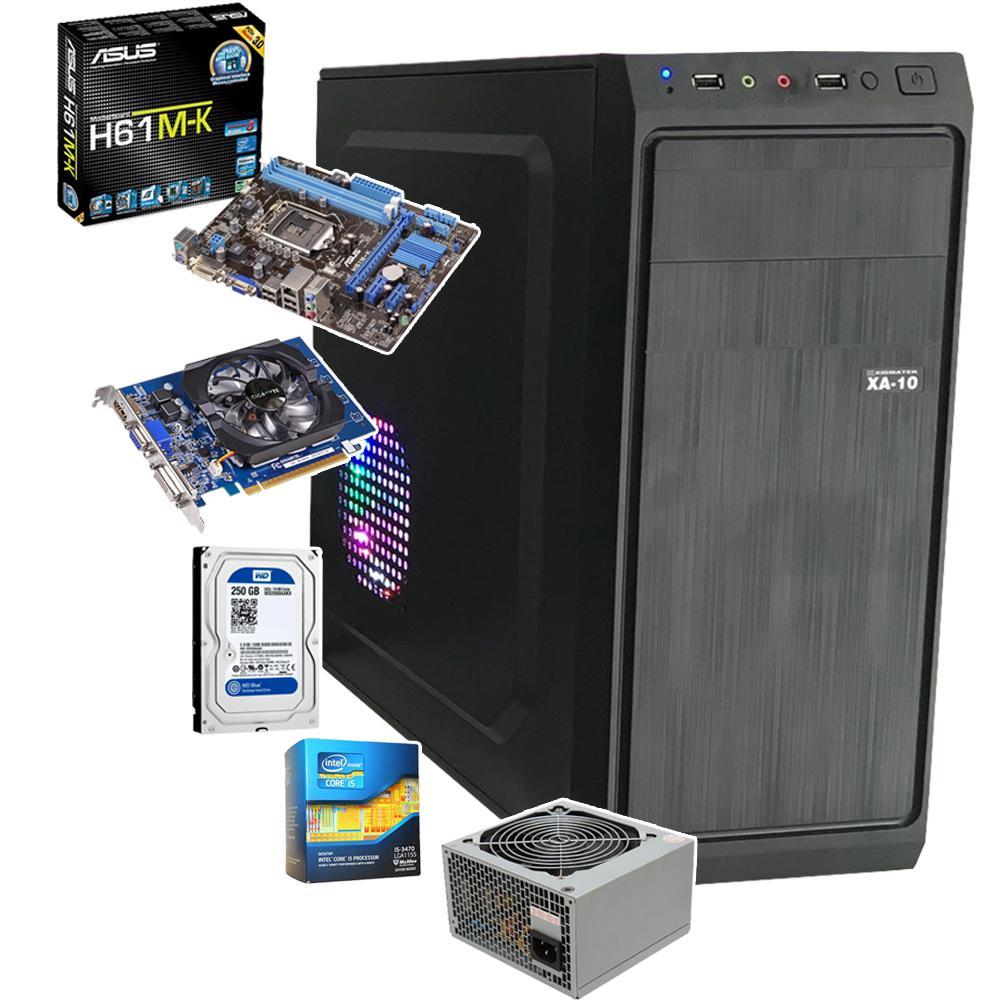 Case Máy Tính PUBG Giá Rẻ Card RX470, CPU i5-4570