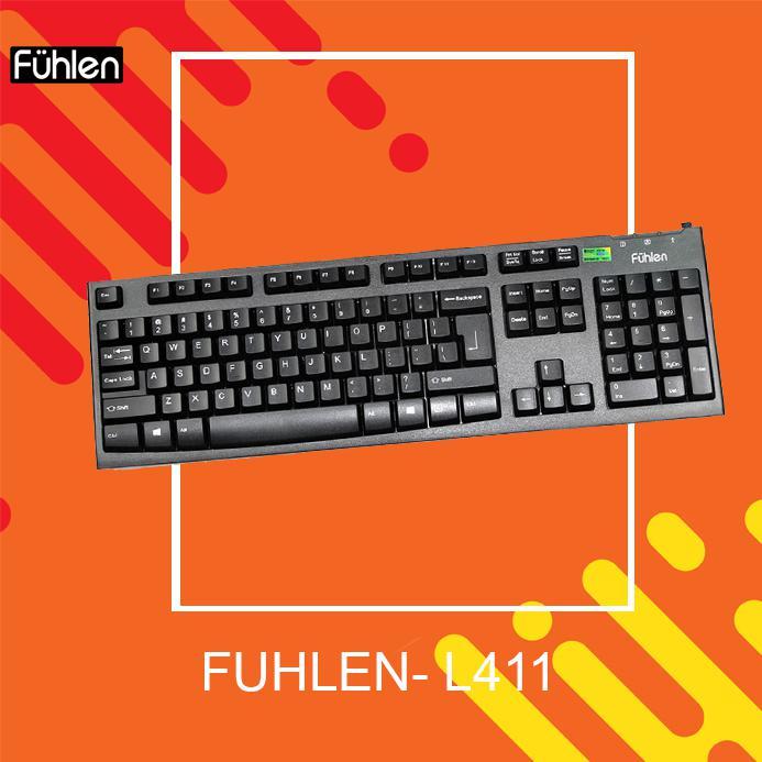 Bàn Phím Fuhlen L411 New