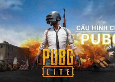 Cấu hình máy tính chơi PUBG, không LAG
