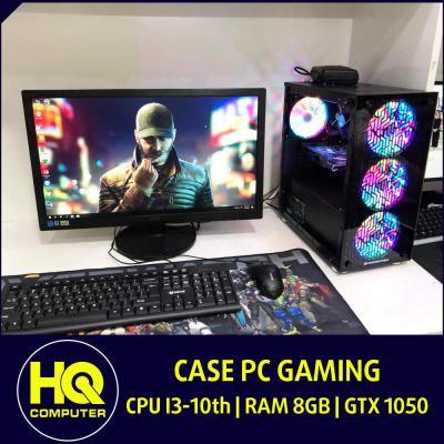 Case Core i3-10th Card GTX 1050 Ram 8GB