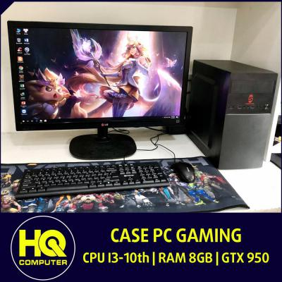 Case PC Core i3-10th Card GTX 950 Ram 8GB